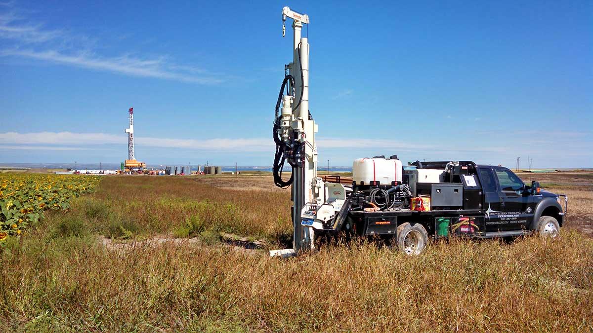 Geoprobe Truck Mount