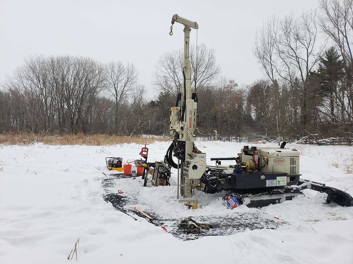 Geoprobe In Field