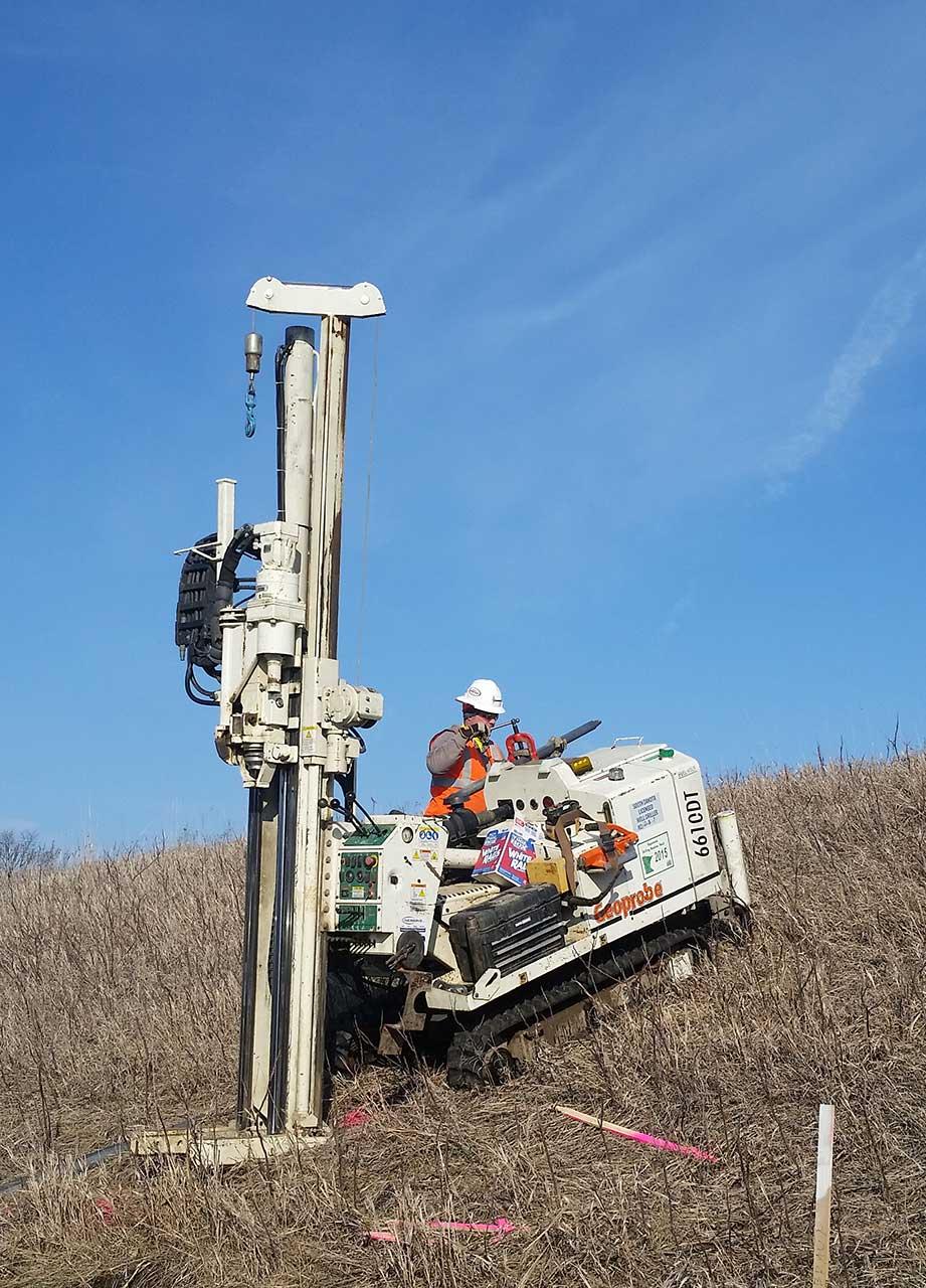 Geoprobe Operator In Field